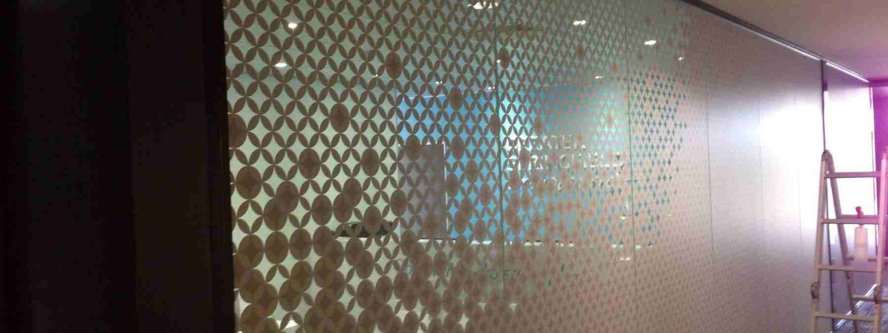 Office Glass Pattern