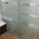 frosted office glass door tinting